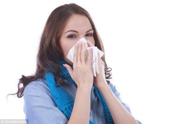 慢性鼻竇炎患者也常伴有口臭症狀。 圖/翻攝自英國每日郵報