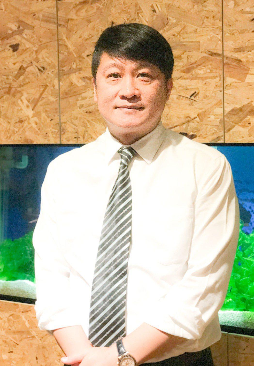 聯義廣告執行長張明道當選高雄市不動產代銷公會第六屆理事長。 攝影/張世雅