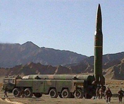東風16型飛彈。圖/翻攝自網路