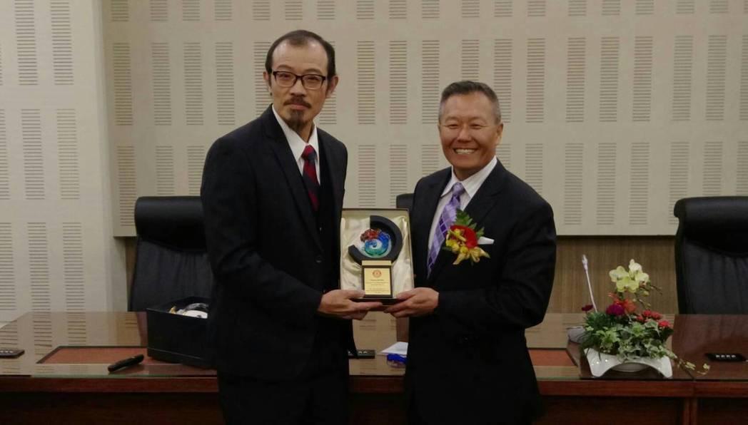 美國亞特蘭大葛蒂外傷中心主任李彼德(Dr Peter Rhee)來台演講,台灣外...