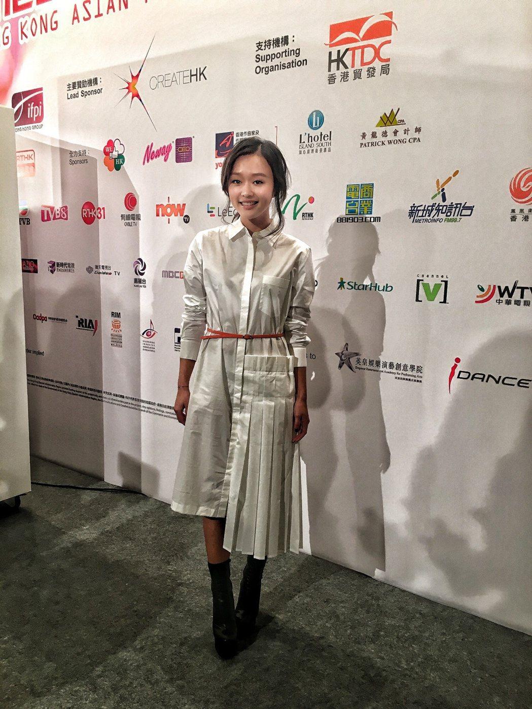 陳明憙出道半年成績斐然,屢獲獎項肯定。圖/太陽娛樂提供