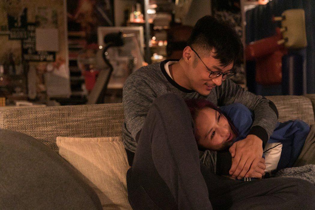 余文樂與楊千嬅在「春嬌志明」系列電影中已成「老夫老妻」狀態。圖/華映娛樂提供