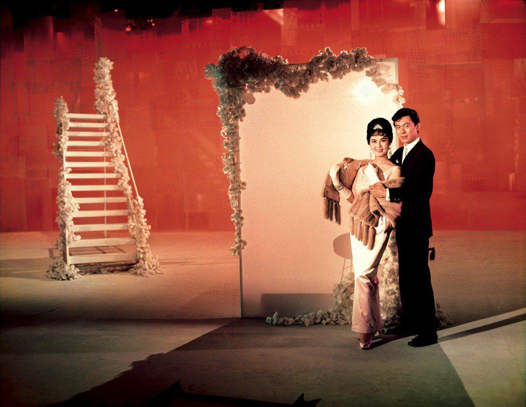 林黛在邵氏大片「花團錦簇」展現美艷巨星丰采。圖/國家電影中心提供