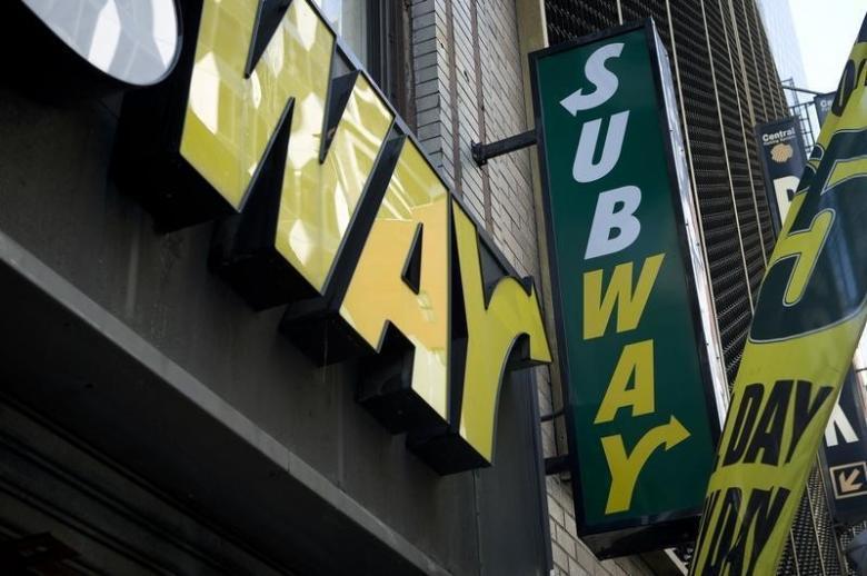 Subway。(圖/路透)