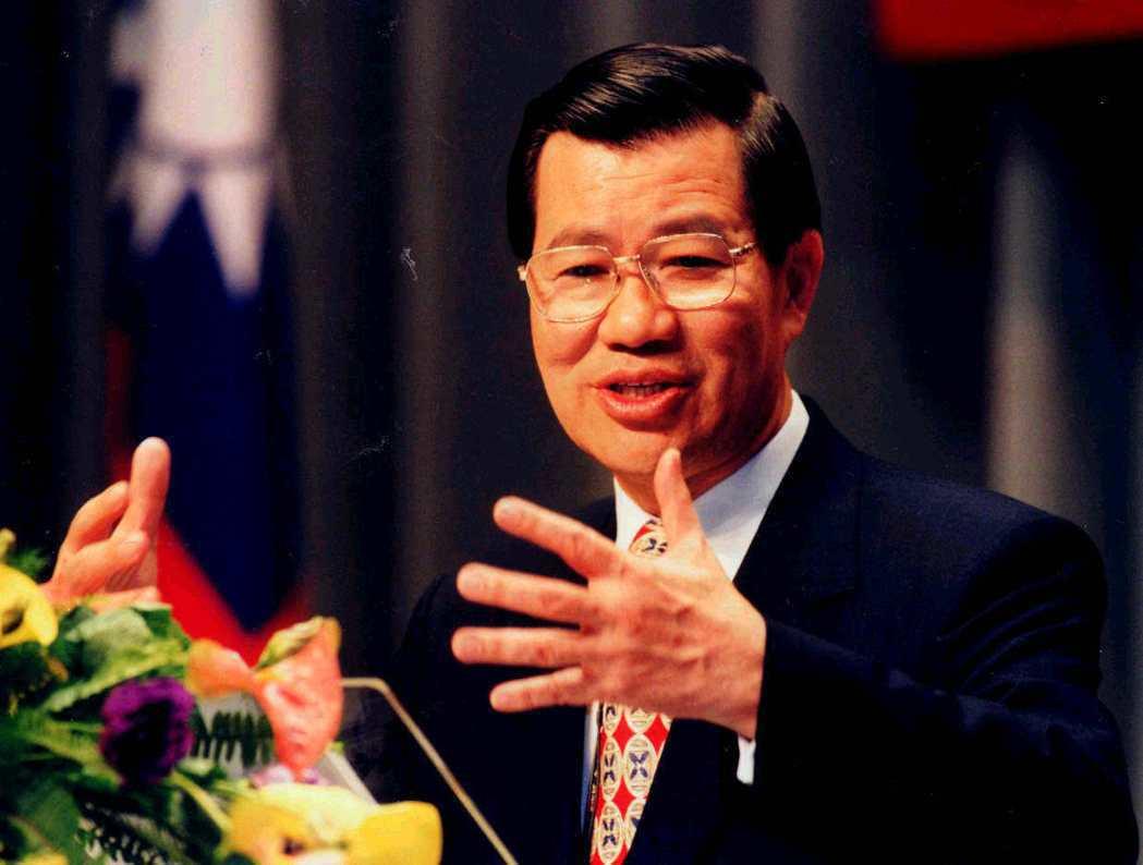蕭萬長行政院長任內曾提出「臺灣地區與大陸地區訂定協議處理條例草案」。 本報資料照...