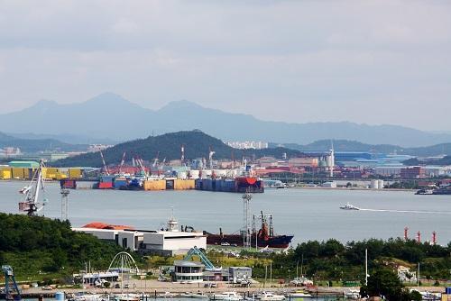 韓國木浦港。圖擷自未來網