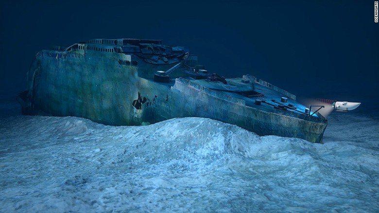 潛水到鐵達尼號殘骸點!鐵達尼團開出一人四百萬天價