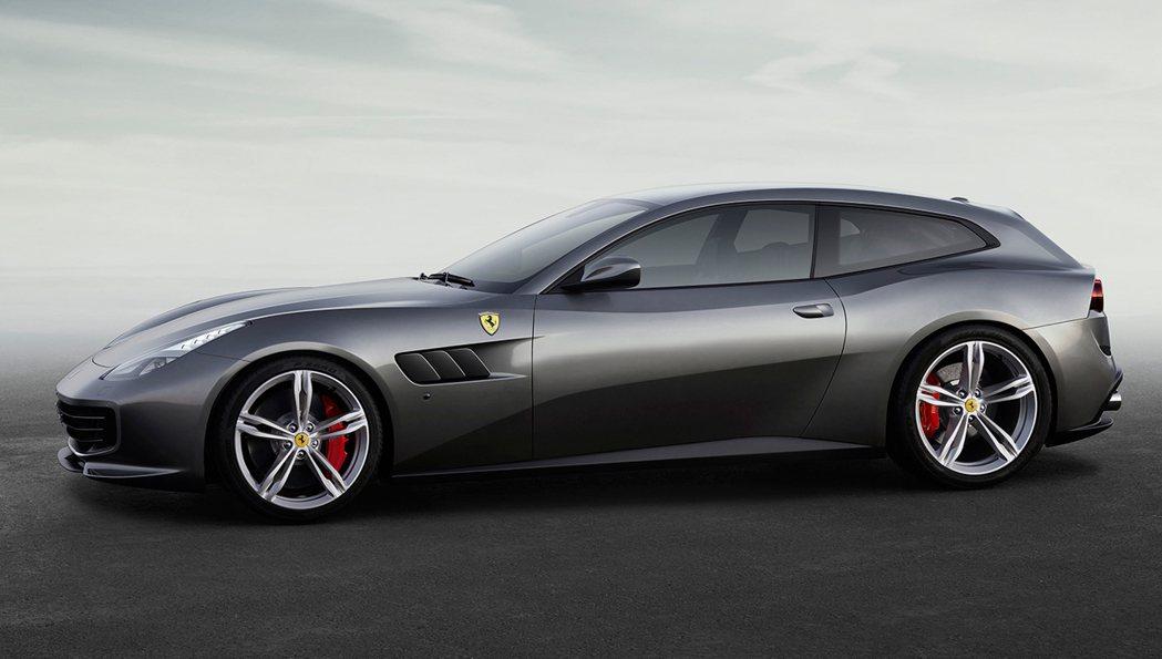 Ferrari GTC4Lusso。 圖/Ferrari提供