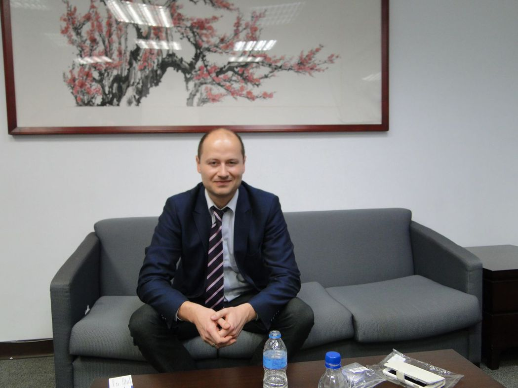 荷蘭LifeSense集團CEO Dr.VALER POP。 金萊萊/攝影