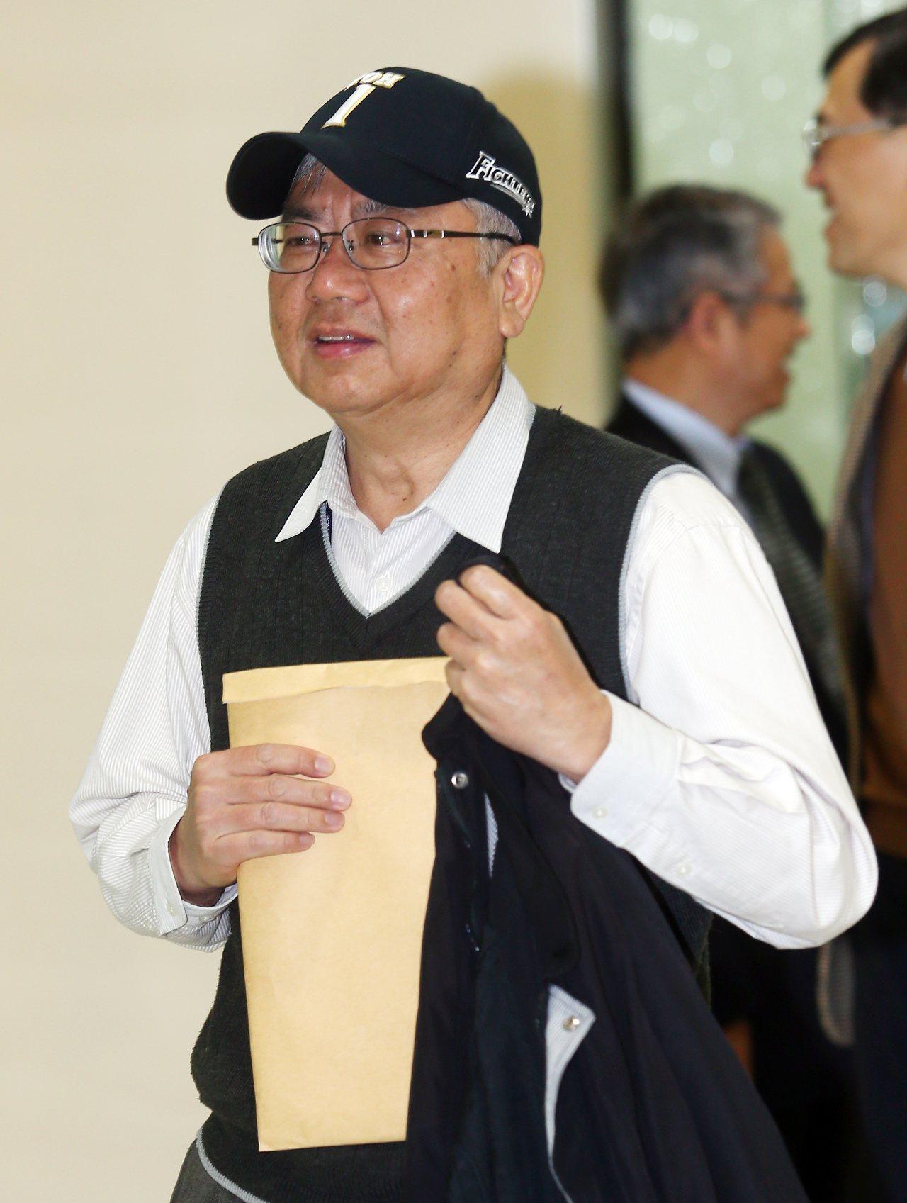 檢察官陳瑞仁上午出席司改會國是會議。記者杜建重/攝影