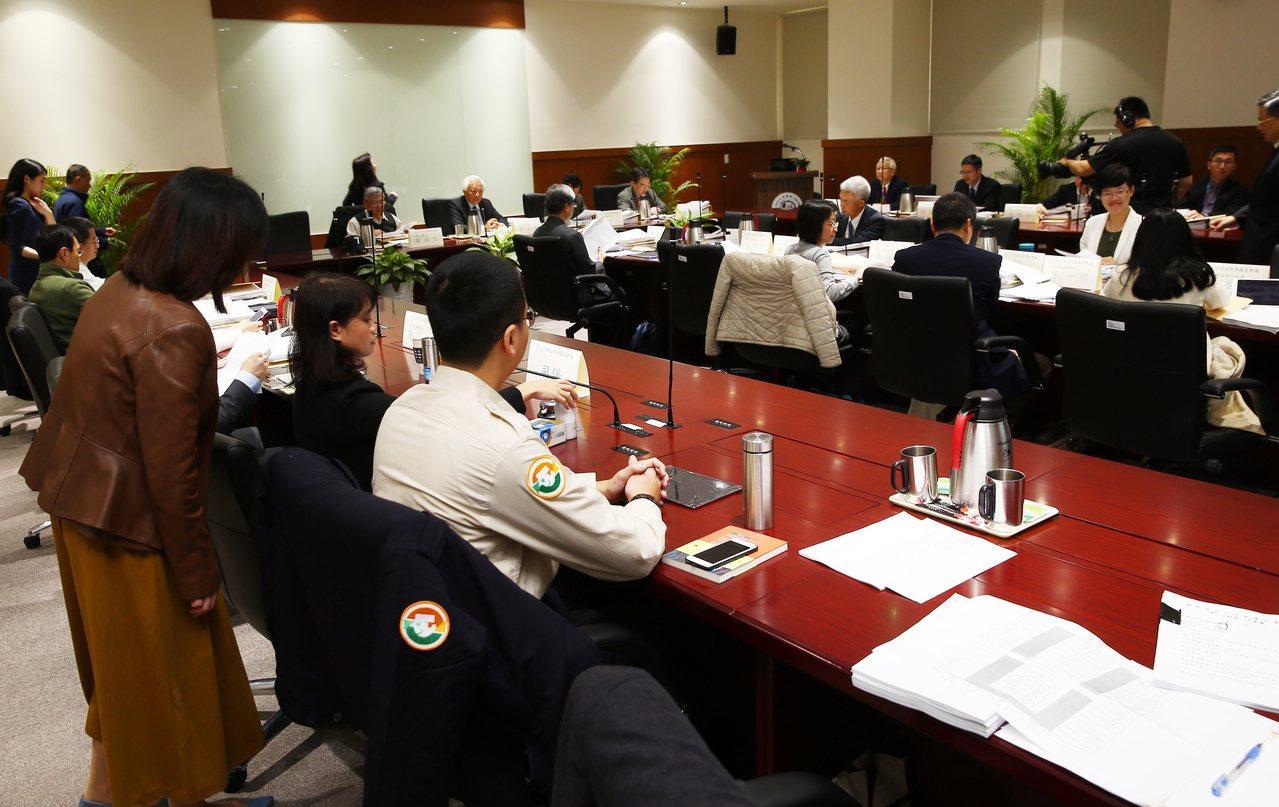 司改會國是會議第三分組會議。記者杜建重/攝影