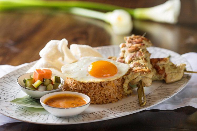 印尼炒飯也是點餐率頗高的料理。圖/文華東方提供