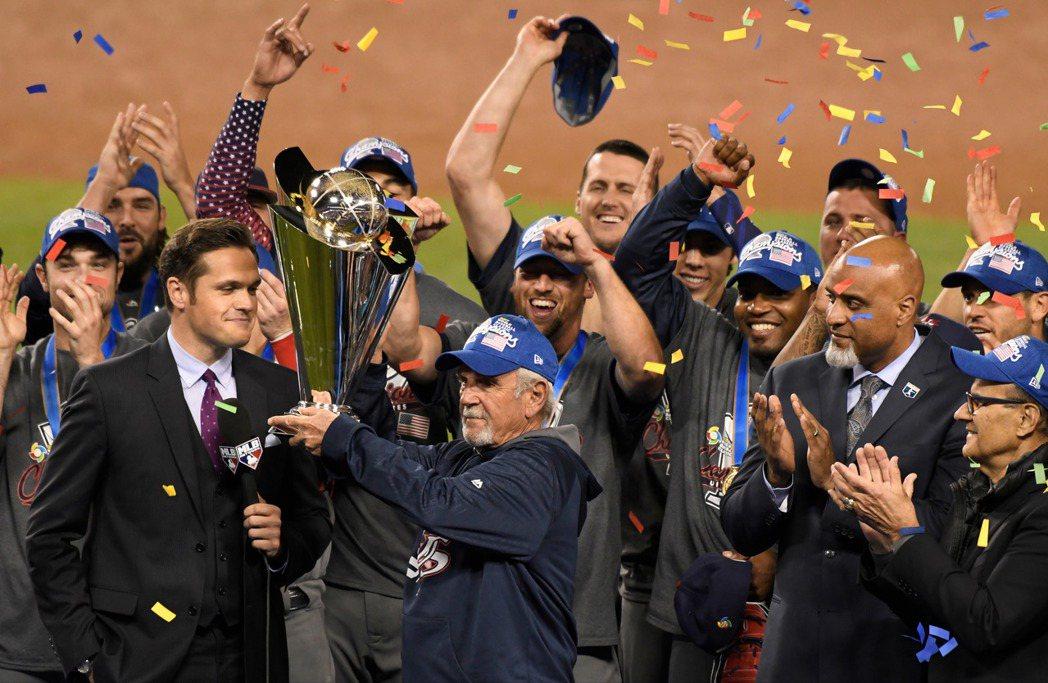 美國奪得第四屆經典賽冠軍。 路透