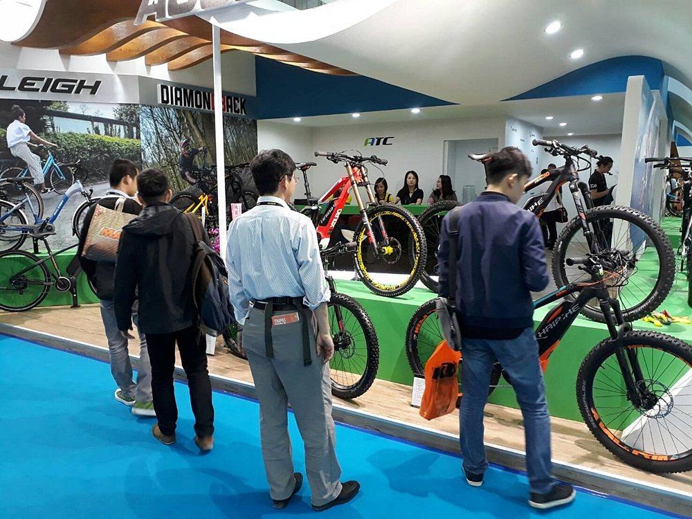 今年台北國際自行車展邁入第30屆。 記者林和謙/攝影