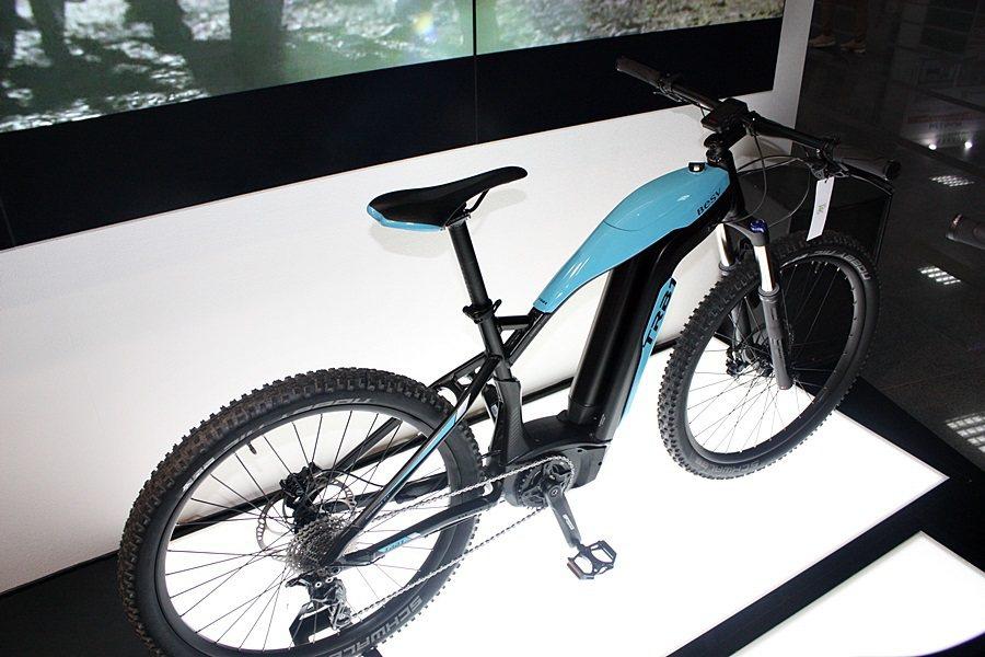 TRB1電動登山自行車。 記者林和謙/攝影