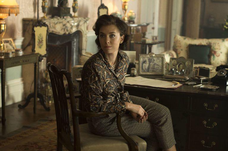 凡妮莎寇比因「王冠」聲譽鵲起。圖/摘自Netflix