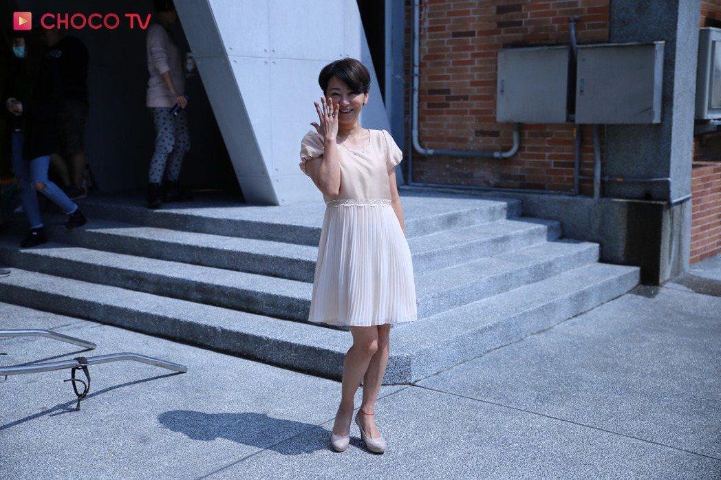 曹蘭相隔7年再度演戲 圖/CHOCO TV提供