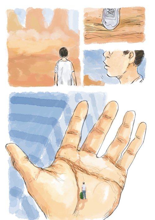 「人,每隻手有五根手指頭。」爸爸一開口,就說了句大家都知道的廢話。 圖/阮光...