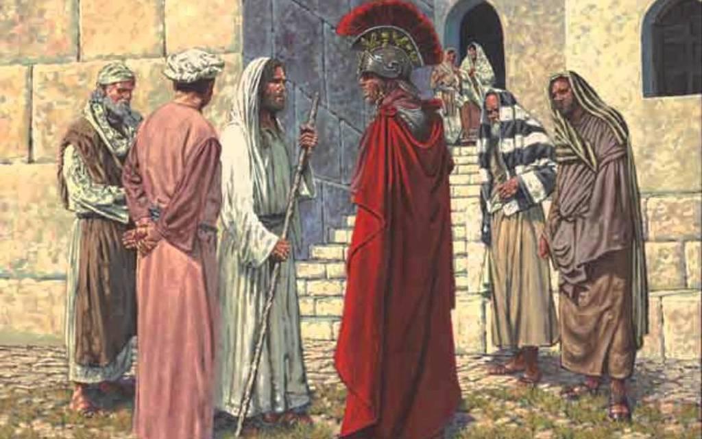 圖/羅馬軍官向耶穌請求醫治他的情人