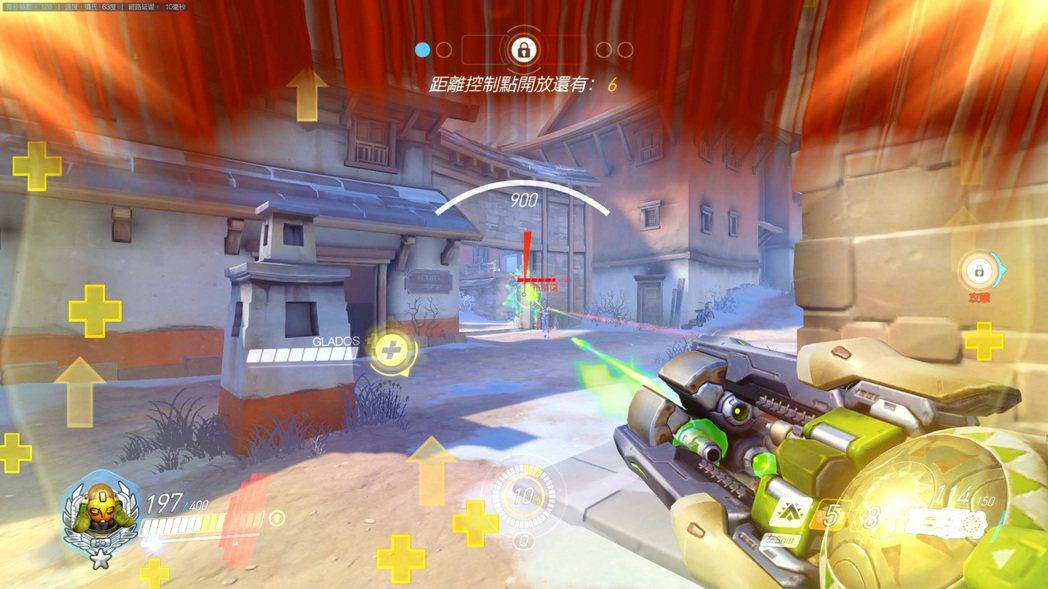 當你引力彈出去的時候,準心其實就可以瞄準你準備引爆的地方。若將人拉到空中,可讓對...