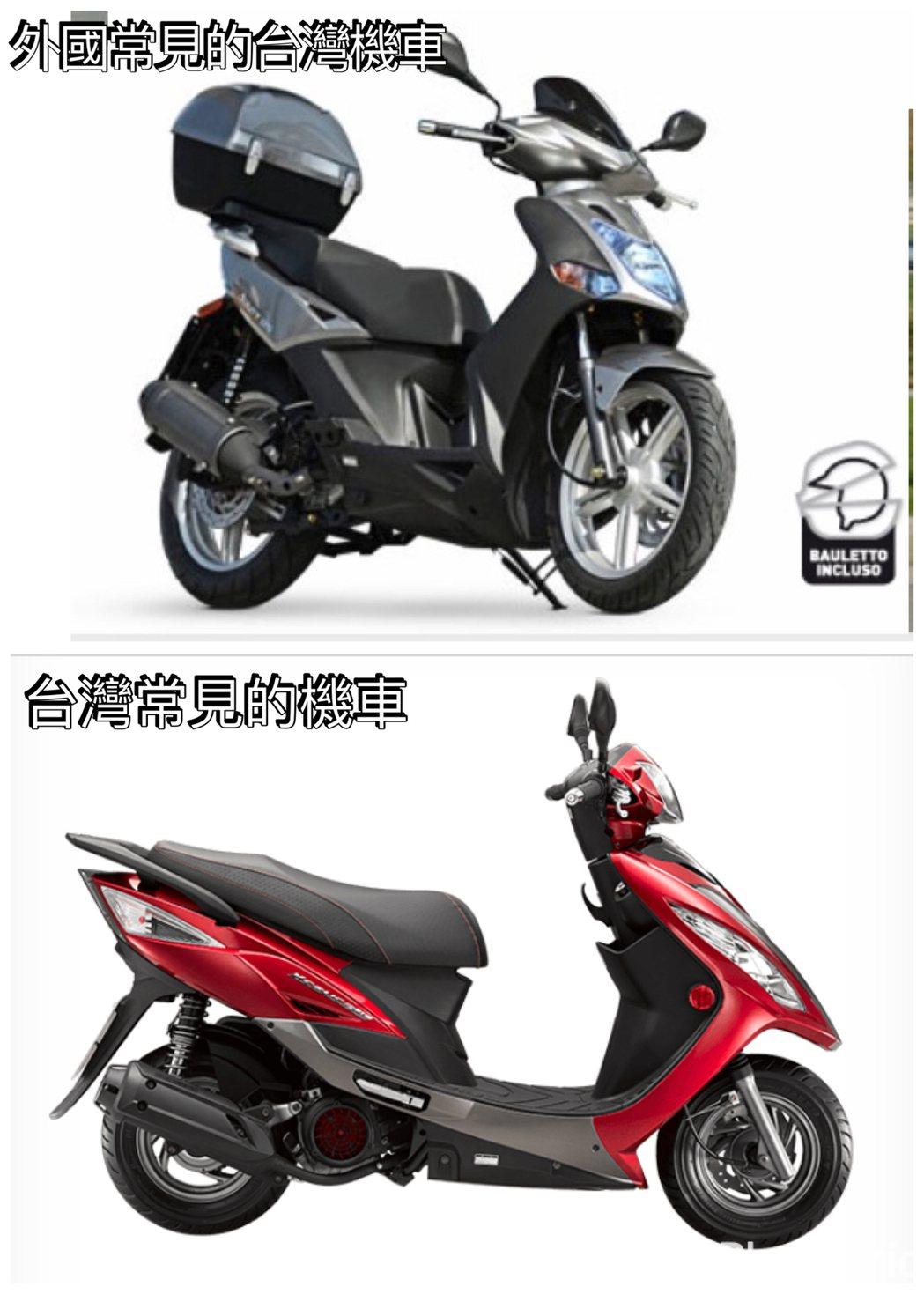 圖片來源/ 台灣kymco 、 義大利kymco