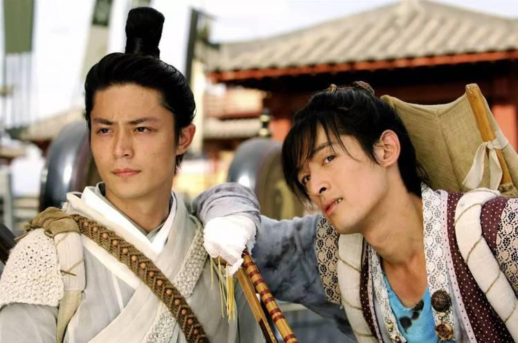 胡歌和霍建華因為2009年合作《仙劍奇俠傳3》而結交成「好兄弟」。圖/擷自微博