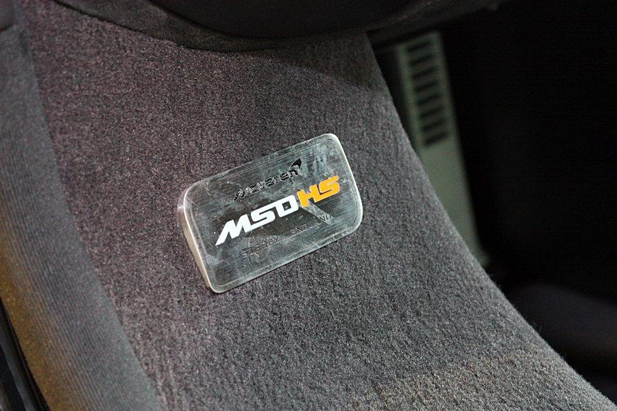 MSO HS車內銘牌。 記者林和謙/攝影