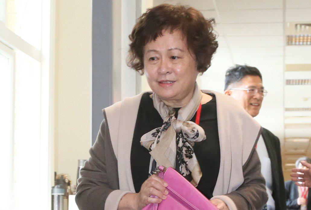 憲法法庭鑑定人陳惠馨教授。 記者許正宏/攝影