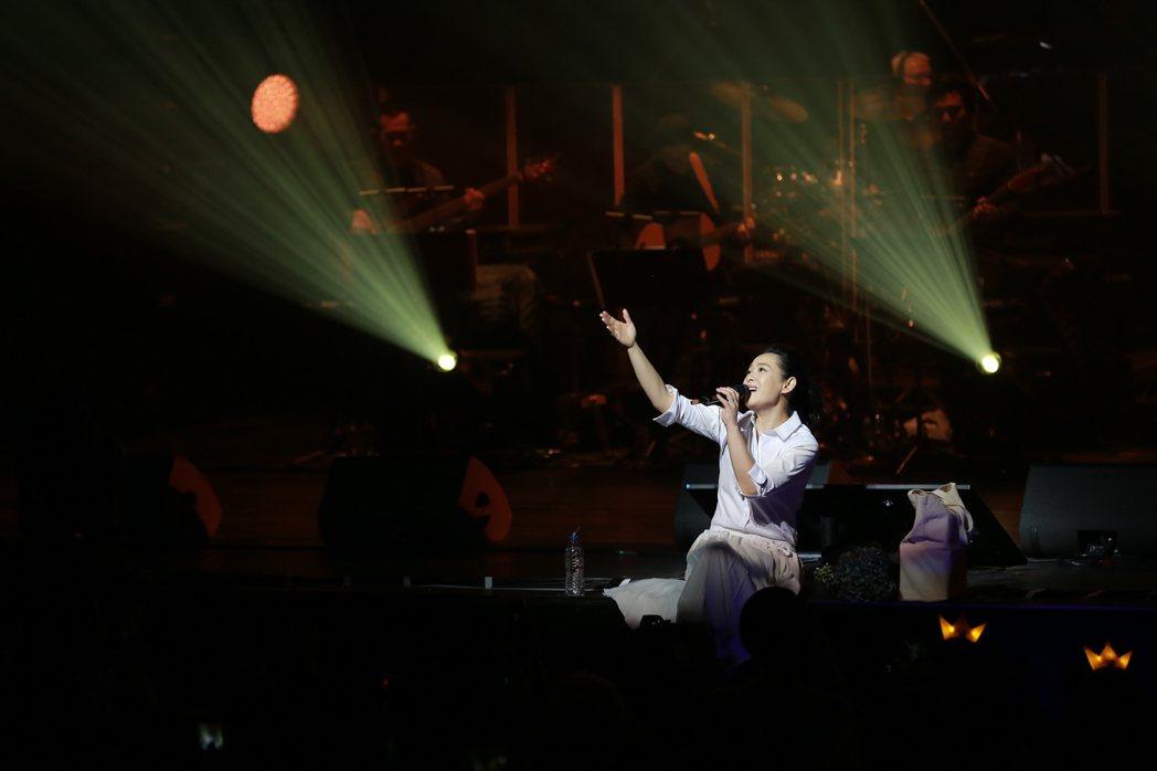劉若英23日在東京開唱。圖/相信音樂提供