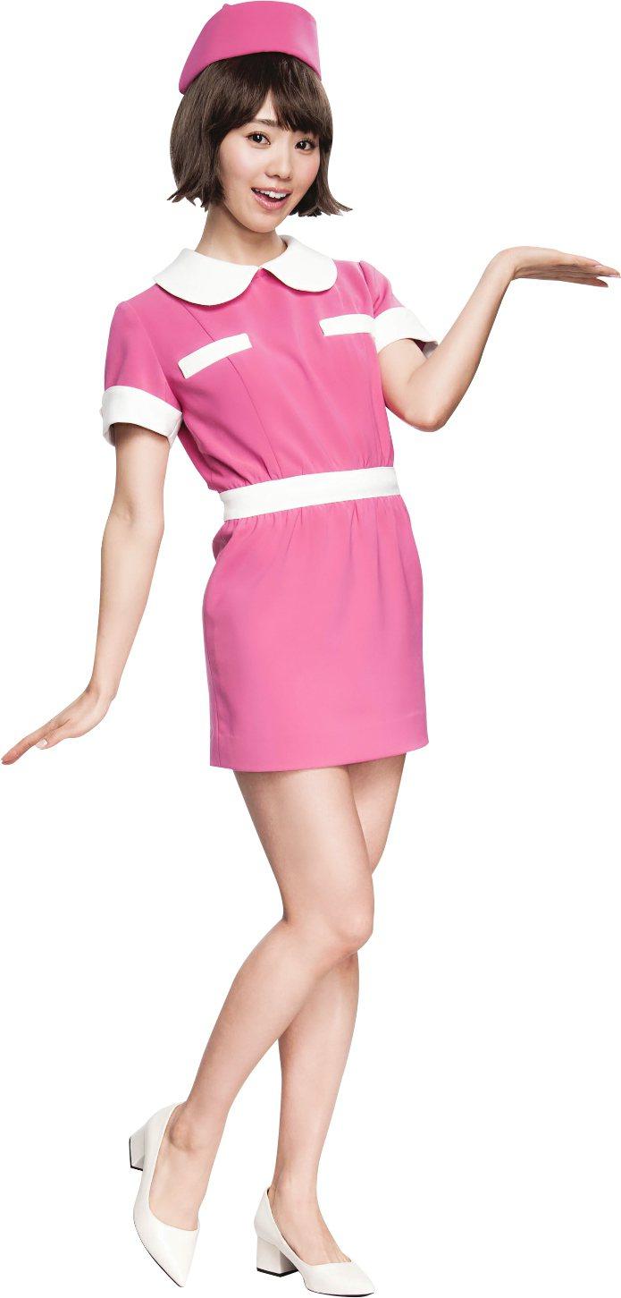 池端玲名拍廣告化身小護士。圖/SEXYLOOK提供