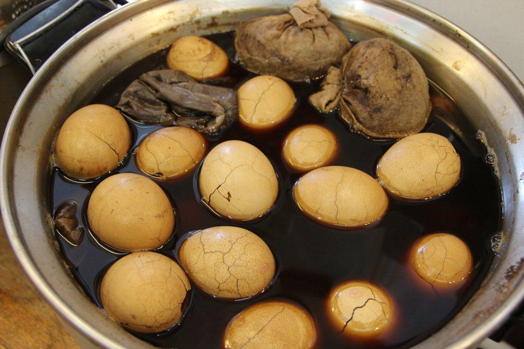 茶葉蛋愈煮愈香。 圖/本報資料照片