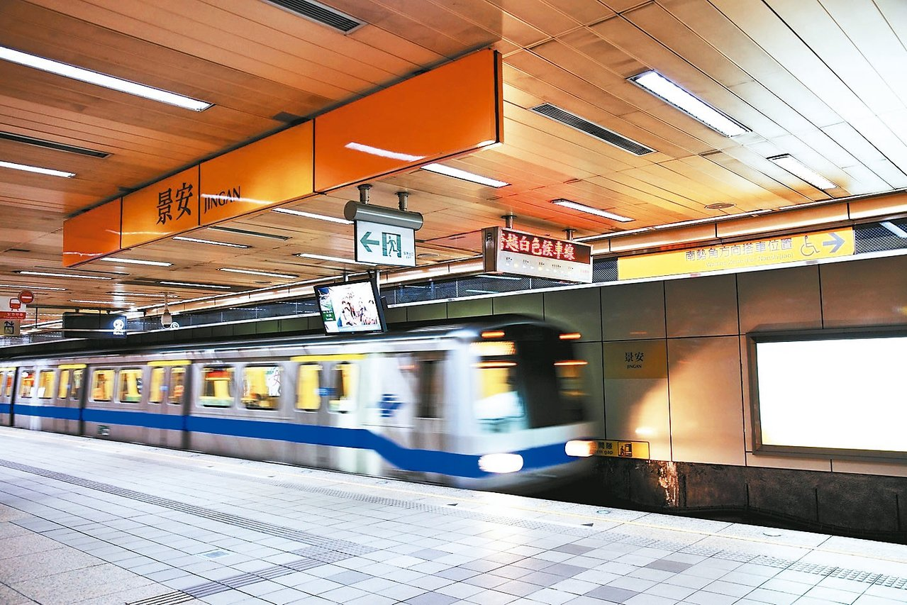 捷運景安站 報系資料照