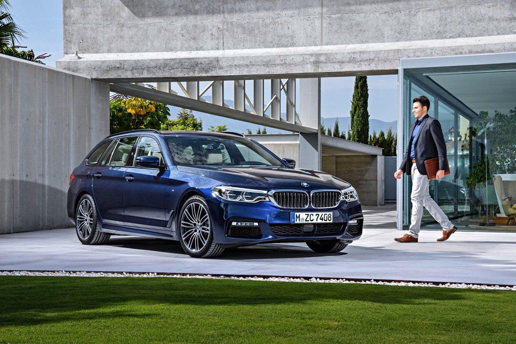 全新BMW5系列Touring預售開跑。 圖/BMW提供