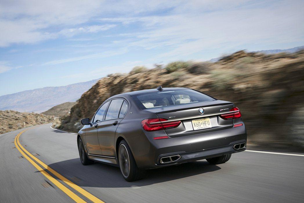 BMW M760Li。BMW提供