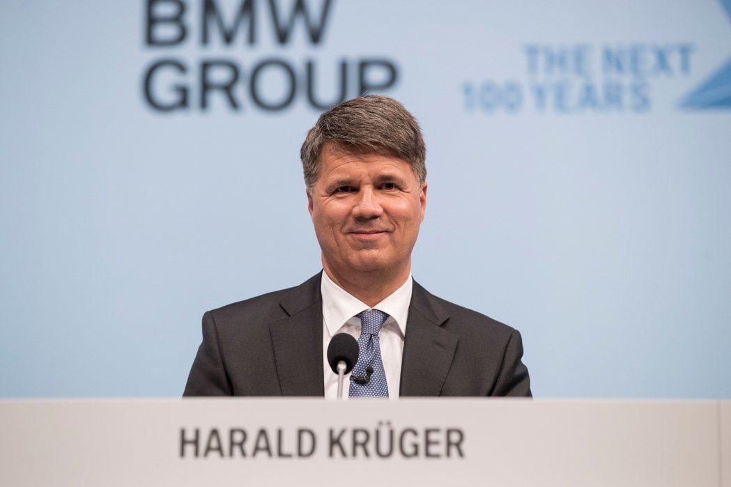 執行長Harald Krüger。BMW提供