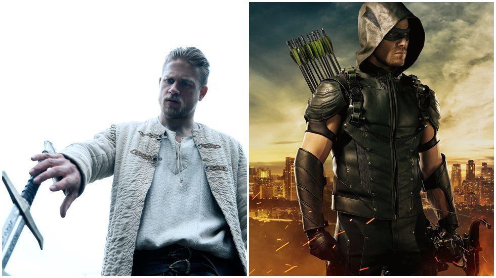 「環太平洋」、「亞瑟:王者之劍」男星查理杭南表示並不會演出電影版「綠箭俠」。圖/