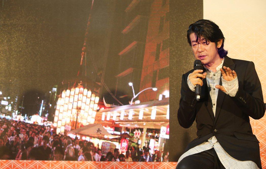 日本影帝永瀨正敏昨天出席日本東北、九州的觀光活動,秀出自己的攝影作品介紹日本。記...