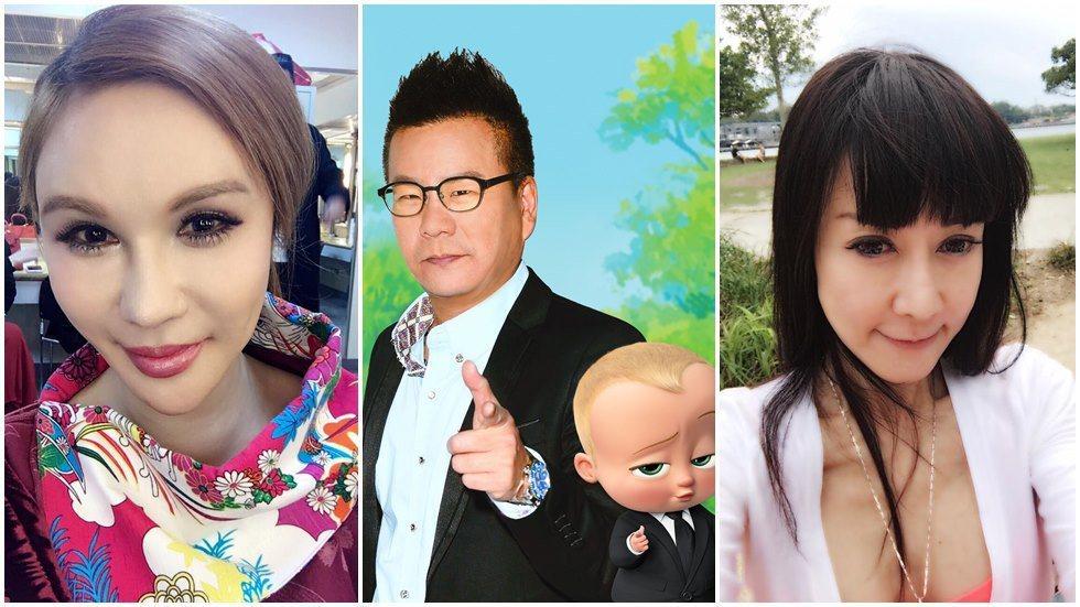 沈玉琳11字妙解利菁與羅霈穎的恩怨。圖/摘自臉書、福斯提供