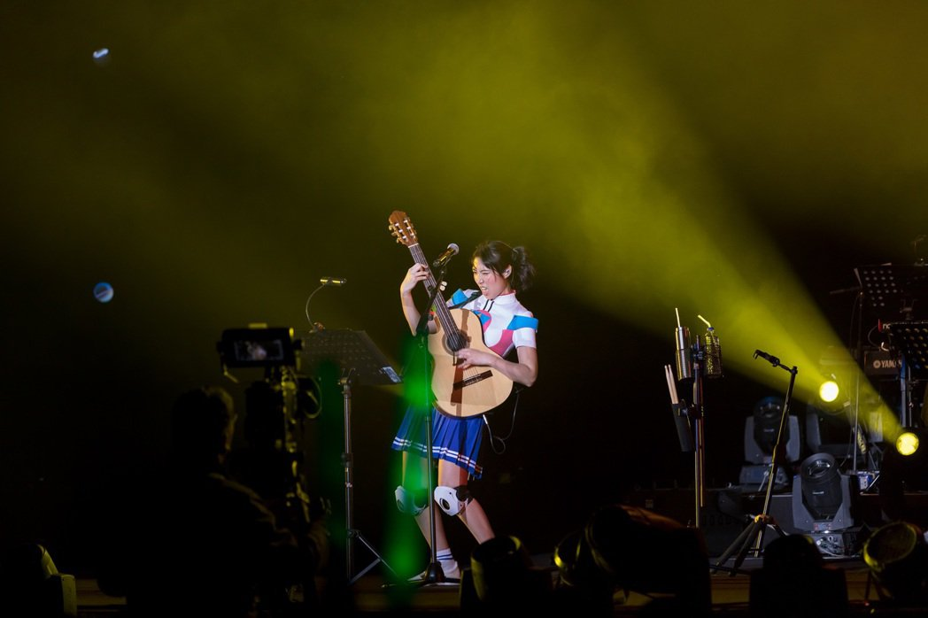Joanna王若琳「夢幻正義與荒唐巡迴演唱會」上海站。圖/索尼提供