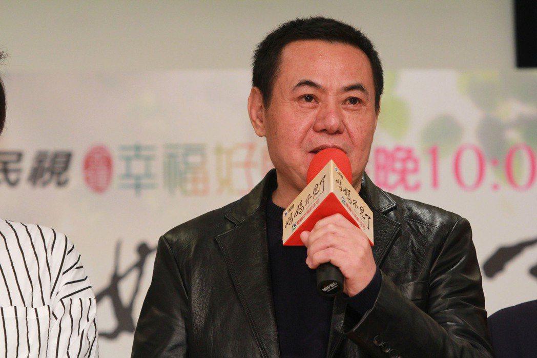 蔡振南在「媽媽不見了」飾演父親。圖/民視提供