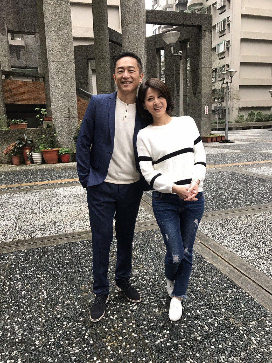 陳昭榮加入「春花望露」與蘇晏霈配對。記者陳慧貞/攝影