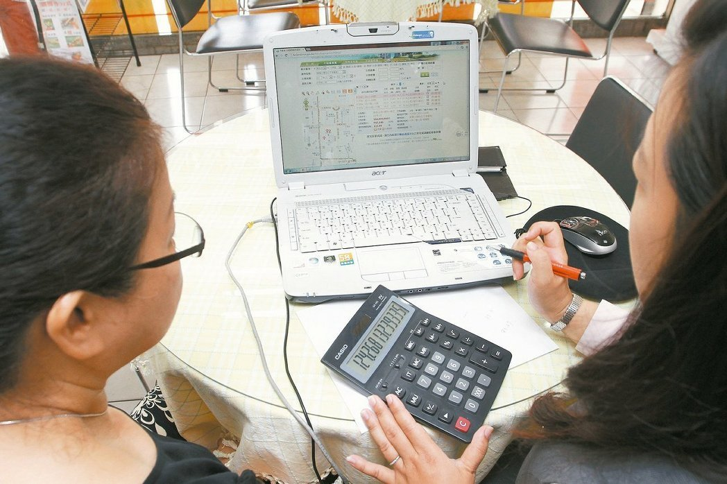 台北市地政局今天表示,近年男女不動產繼承差距不大 。 報系資料照