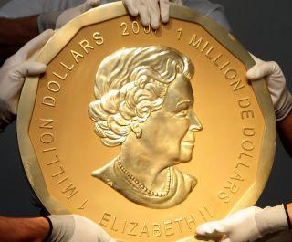 德國柏林博德博物館發生竊案,1枚100公斤重、面值大約100萬美元的金幣不翼而飛...