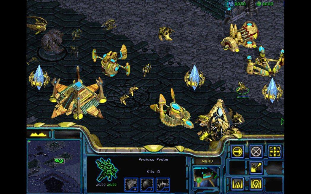 原版遊戲畫面 ─ 神族。