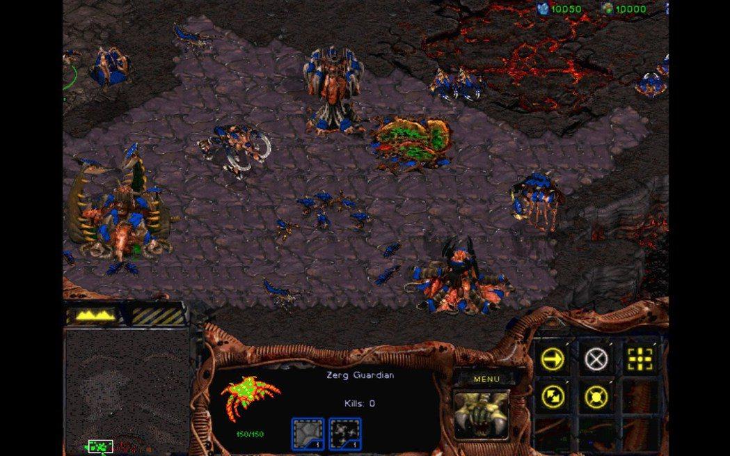 原版遊戲畫面 ─ 蟲族。