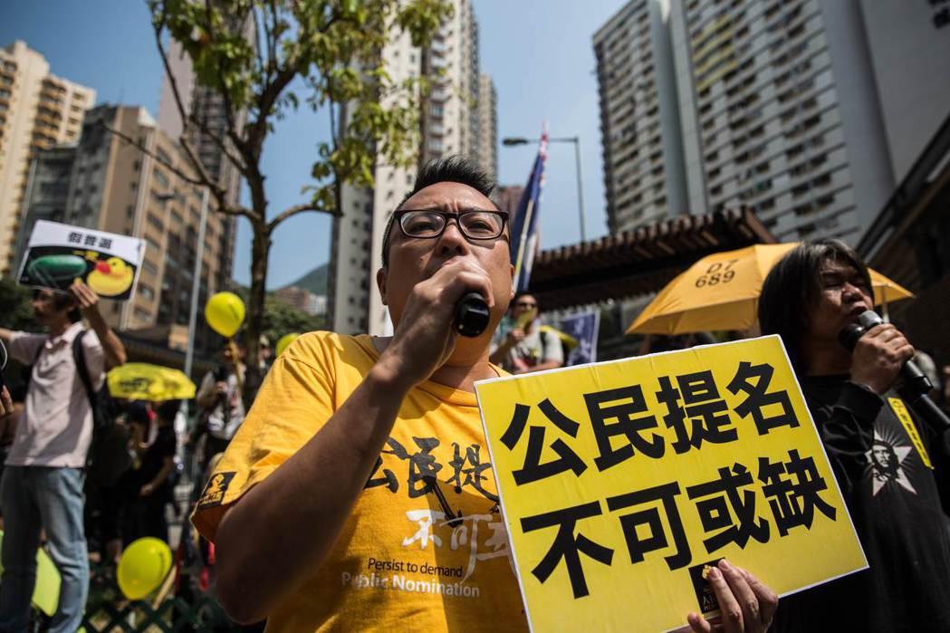 香港730萬人口中,滿18歲以上具投票權的人口約500萬,然而,目前香港特首的選...