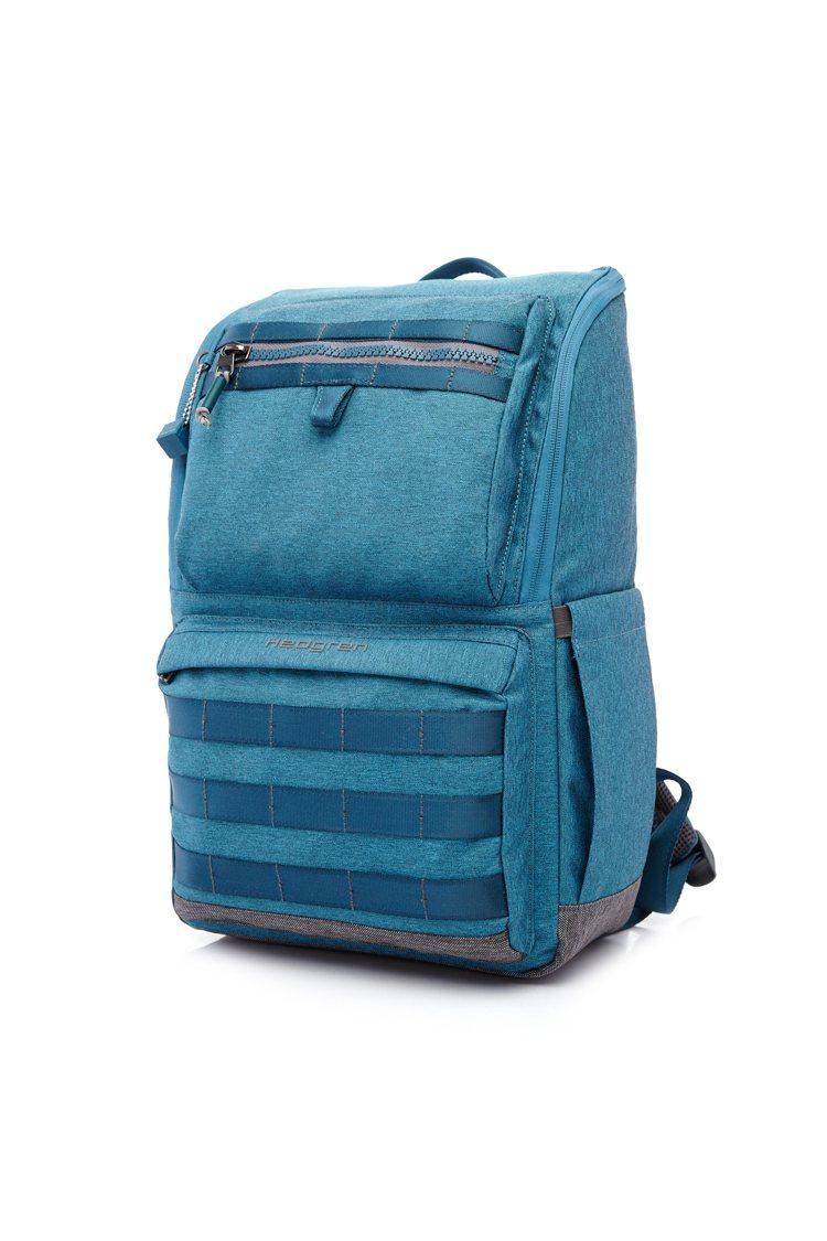 Hedgren進擊系列土耳其藍後背包,4,280元。圖/Hedgren提供