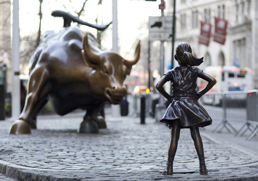 紐約華爾街無畏女孩雕像 延長展期至明年三月