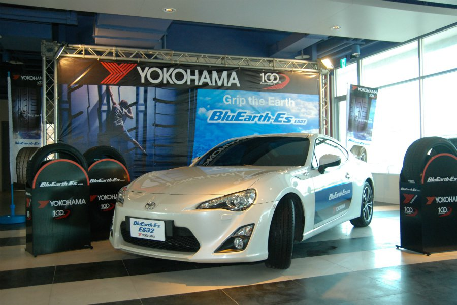 YOKOHAMA 台灣橫濱輪胎日前於台中麗寶國際賽車場發表 BluEarth-E...