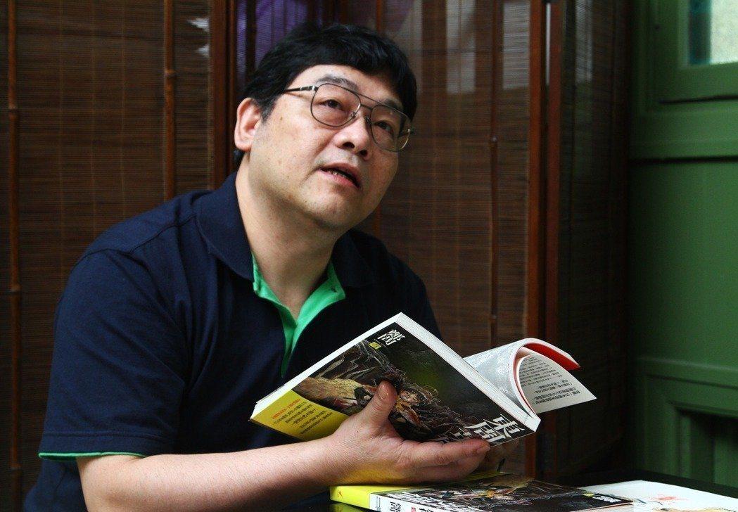 漫畫大師鄭問。圖/本報資料照片